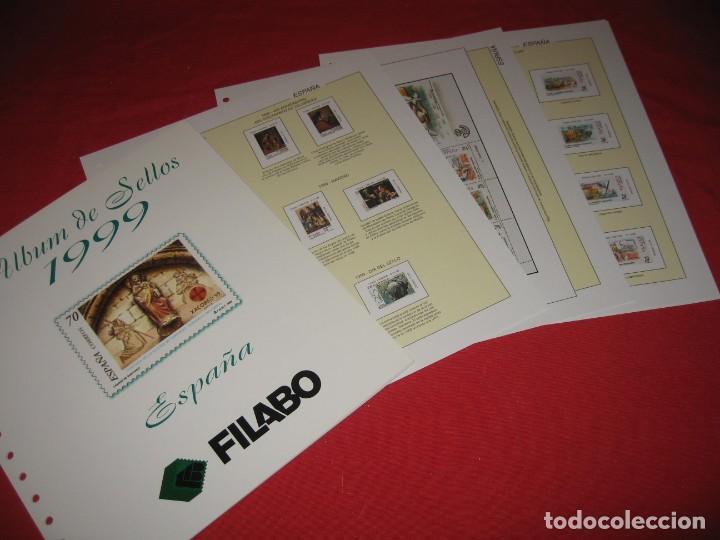 Sellos: SUPLEMENTO PARA SELLOS DE ESPAÑA 1999, DE FILABO SIN ESTUCHES - Foto 3 - 196383015