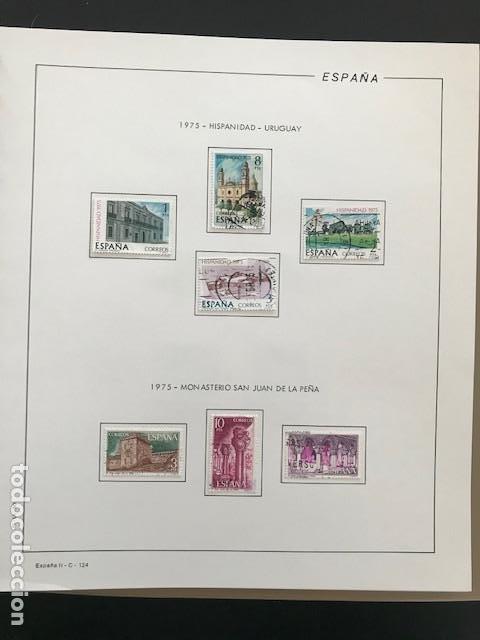 Sellos: Hojas Filabo 1975 con sellos España año completo usado HFS70 - Foto 5 - 197554923