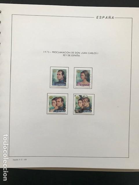 Sellos: Hojas Filabo 1975 con sellos España año completo usado HFS70 - Foto 6 - 197554923