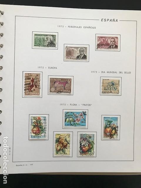 Sellos: Hojas Filabo 1975 con sellos España año completo usado HFS70 - Foto 7 - 197554923