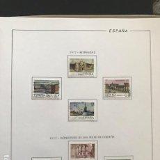 Selos: HOJAS FILABO 1977 SELLOS ESPAÑA AÑO 1977 SELLOS INCLUIDOS. Lote 197555746