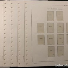 Sellos: HOJAS FILABO SUPLEMENTO AÑO 1967 MONTADAS CON FILOESTUCHES TRANSPARENTES HF60. Lote 197867123