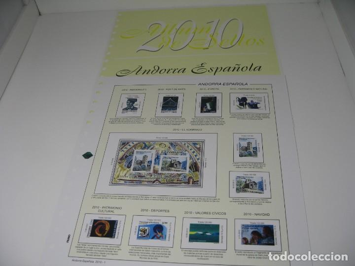 Sellos: SUPLEMENTOS DE SELLOS DE ANDORRA DE LOS AÑOS 2010, 14 Y 15, SIN ESTUCHES DE FILABO - Foto 2 - 198394542