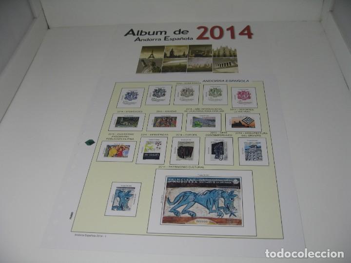 Sellos: SUPLEMENTOS DE SELLOS DE ANDORRA DE LOS AÑOS 2010, 14 Y 15, SIN ESTUCHES DE FILABO - Foto 3 - 198394542