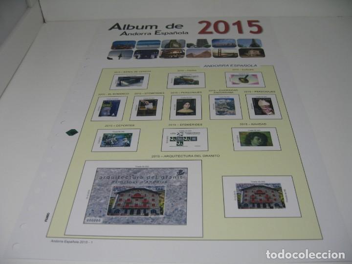 Sellos: SUPLEMENTOS DE SELLOS DE ANDORRA DE LOS AÑOS 2010, 14 Y 15, SIN ESTUCHES DE FILABO - Foto 4 - 198394542
