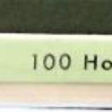 Selos: 100 HOJAS EDIFIL BLANCAS, CUADRICULADAS Y CON TÍTULO ESPAÑA. PERFECTO ESTADO DE CONSERVACIÓN.. Lote 198560341