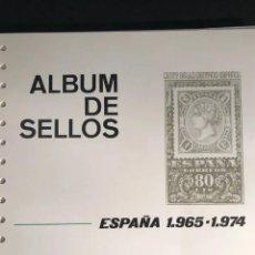 Sellos: HOJAS FILABO AÑOS 1965 A 1974 UN TOTAL DE 63 HOJAS SIN. Lote 198689892