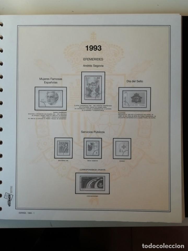 Sellos: HOJAS EFILCAR ESPAÑA 1993-96. Alta calidad, ver descripción - Foto 2 - 199195168
