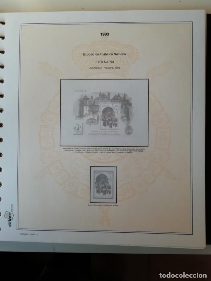 Sellos: HOJAS EFILCAR ESPAÑA 1993-96. Alta calidad, ver descripción - Foto 3 - 199195168