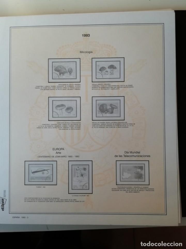 Sellos: HOJAS EFILCAR ESPAÑA 1993-96. Alta calidad, ver descripción - Foto 4 - 199195168