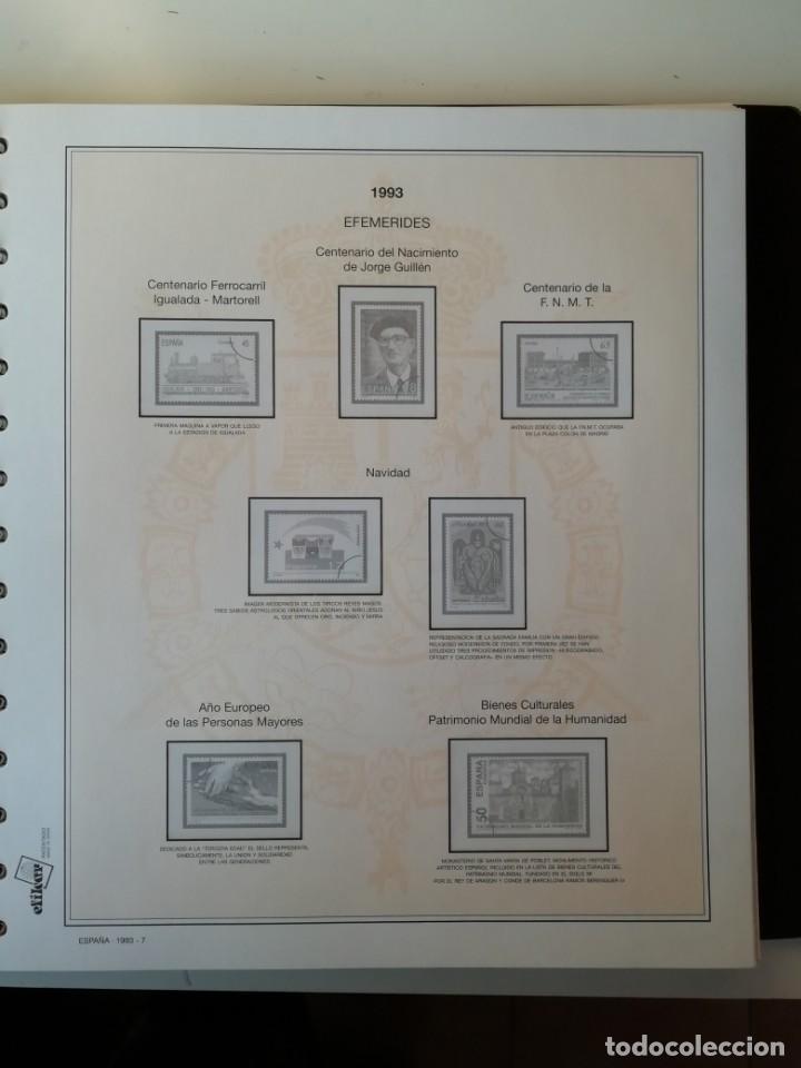 Sellos: HOJAS EFILCAR ESPAÑA 1993-96. Alta calidad, ver descripción - Foto 8 - 199195168
