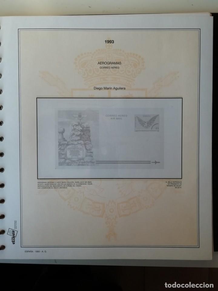 Sellos: HOJAS EFILCAR ESPAÑA 1993-96. Alta calidad, ver descripción - Foto 13 - 199195168