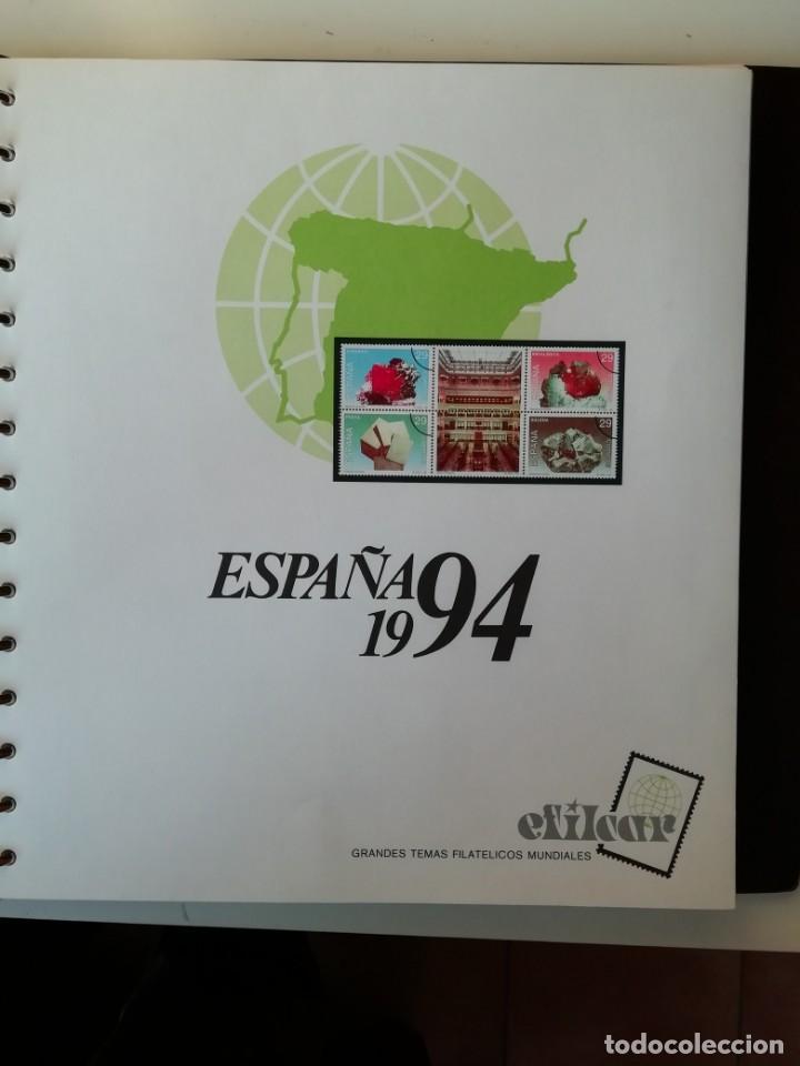 Sellos: HOJAS EFILCAR ESPAÑA 1993-96. Alta calidad, ver descripción - Foto 14 - 199195168