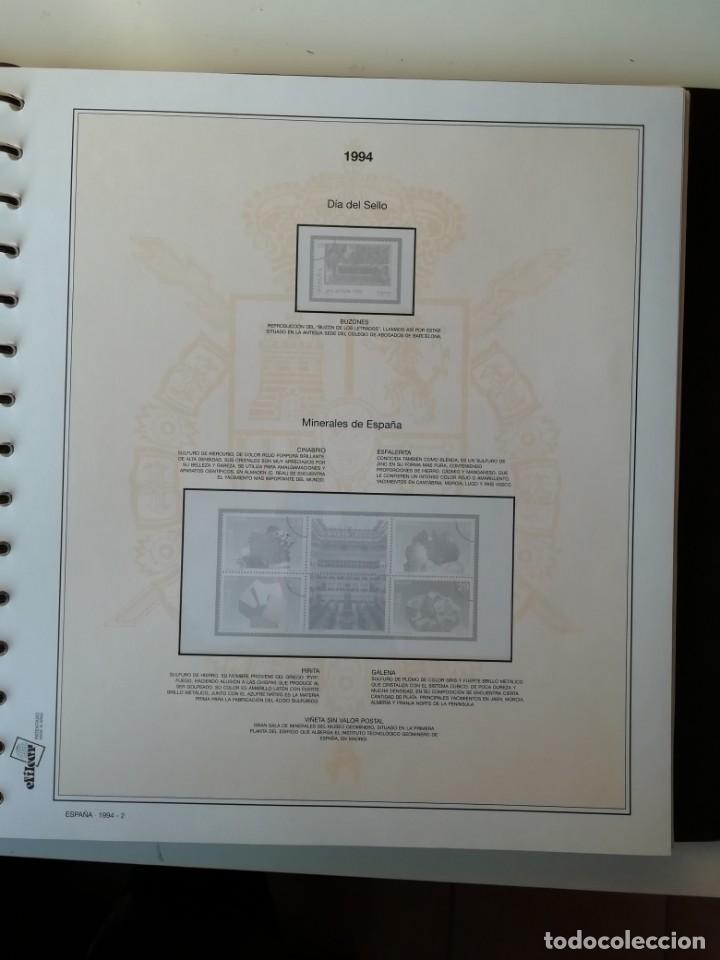 Sellos: HOJAS EFILCAR ESPAÑA 1993-96. Alta calidad, ver descripción - Foto 16 - 199195168