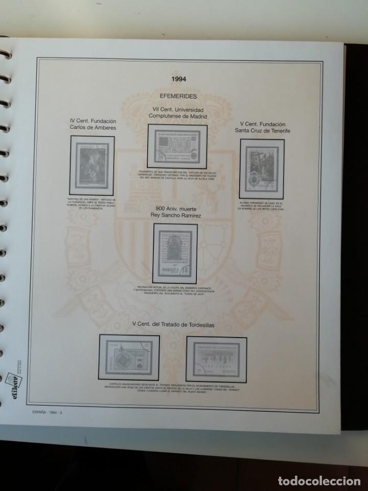 Sellos: HOJAS EFILCAR ESPAÑA 1993-96. Alta calidad, ver descripción - Foto 20 - 199195168