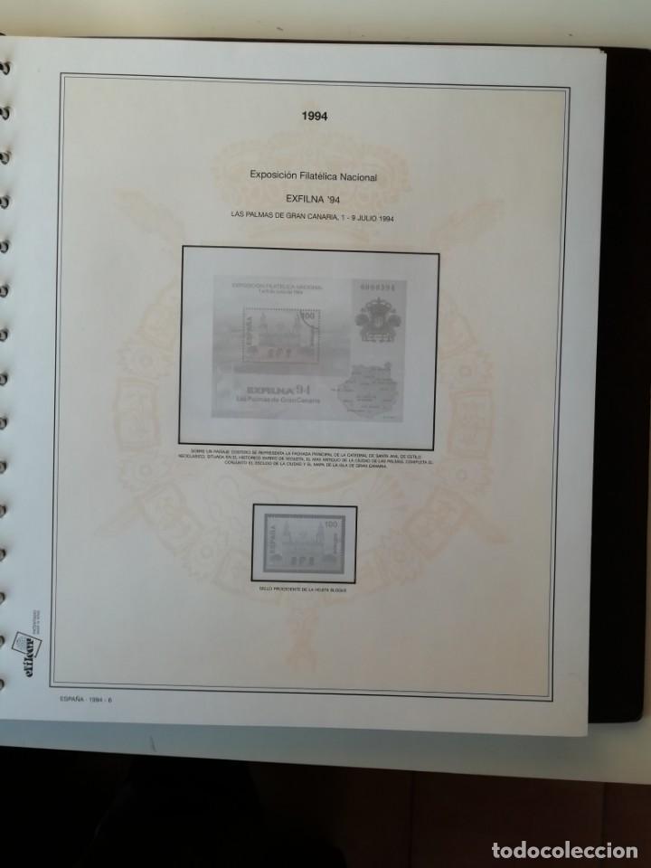 Sellos: HOJAS EFILCAR ESPAÑA 1993-96. Alta calidad, ver descripción - Foto 21 - 199195168
