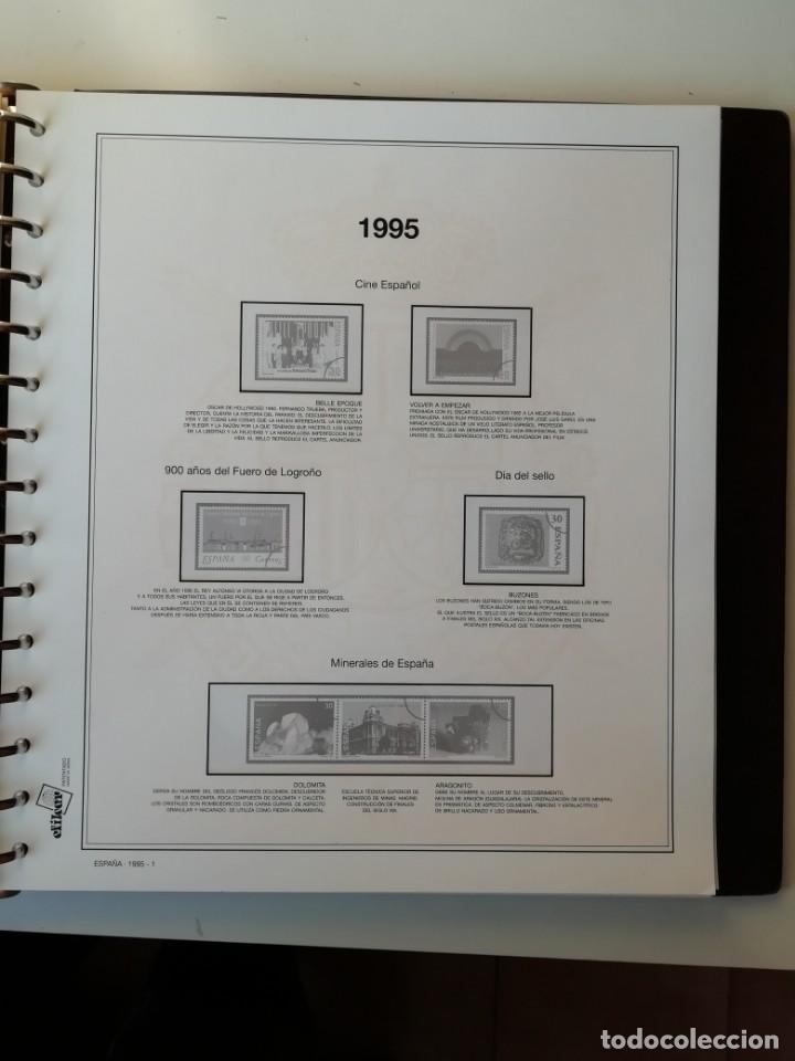 Sellos: HOJAS EFILCAR ESPAÑA 1993-96. Alta calidad, ver descripción - Foto 30 - 199195168