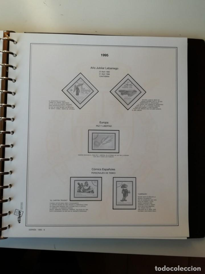 Sellos: HOJAS EFILCAR ESPAÑA 1993-96. Alta calidad, ver descripción - Foto 35 - 199195168