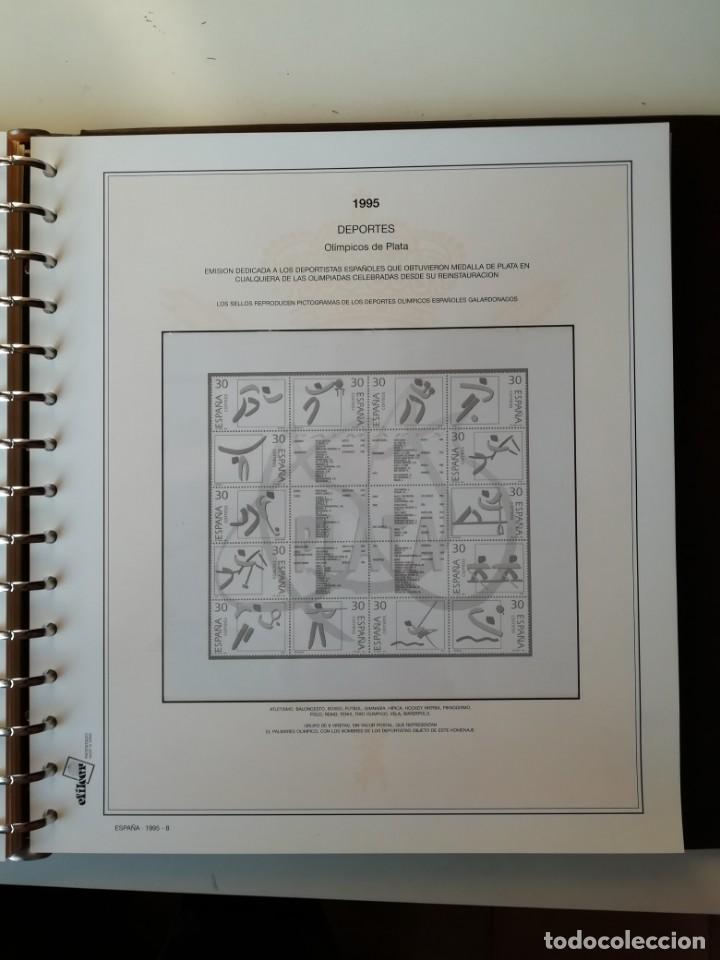 Sellos: HOJAS EFILCAR ESPAÑA 1993-96. Alta calidad, ver descripción - Foto 37 - 199195168