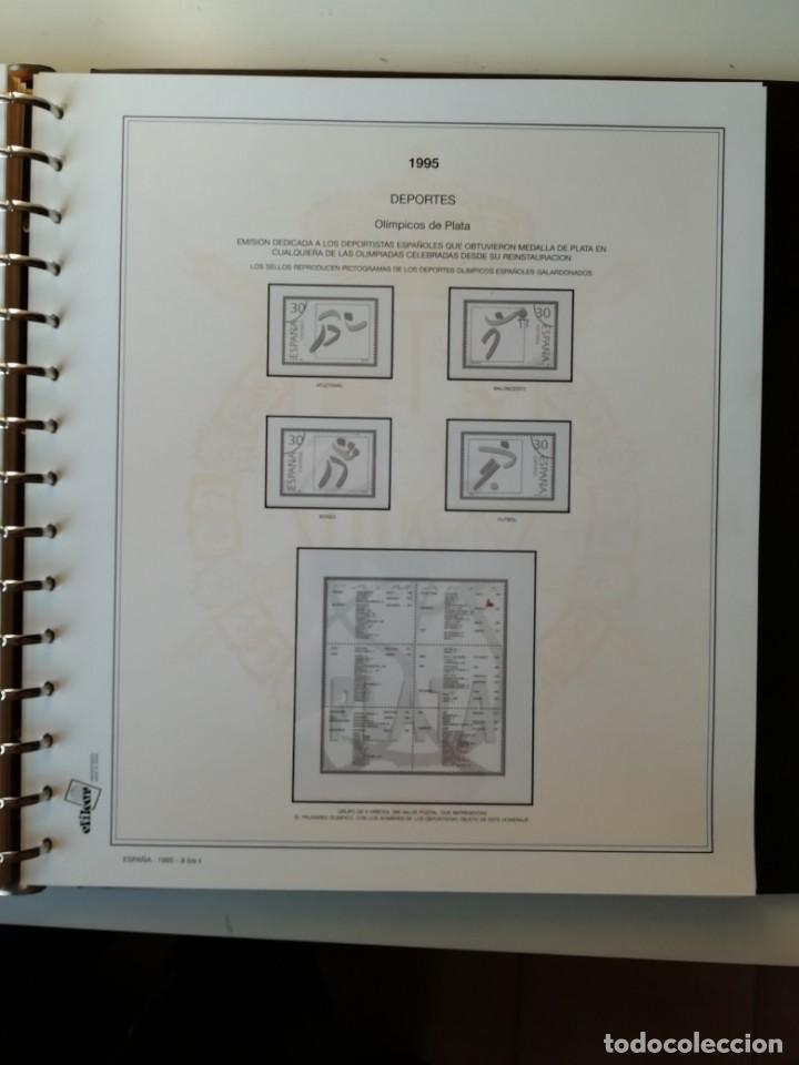 Sellos: HOJAS EFILCAR ESPAÑA 1993-96. Alta calidad, ver descripción - Foto 38 - 199195168