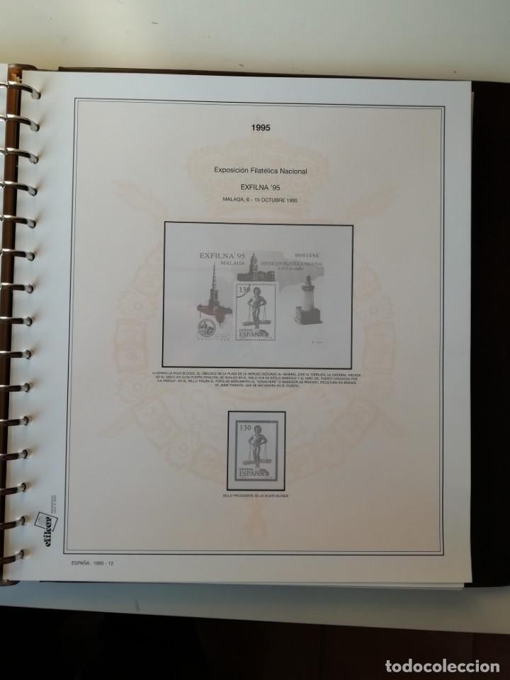 Sellos: HOJAS EFILCAR ESPAÑA 1993-96. Alta calidad, ver descripción - Foto 44 - 199195168