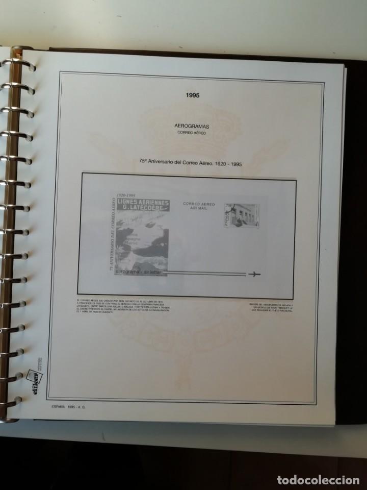 Sellos: HOJAS EFILCAR ESPAÑA 1993-96. Alta calidad, ver descripción - Foto 47 - 199195168