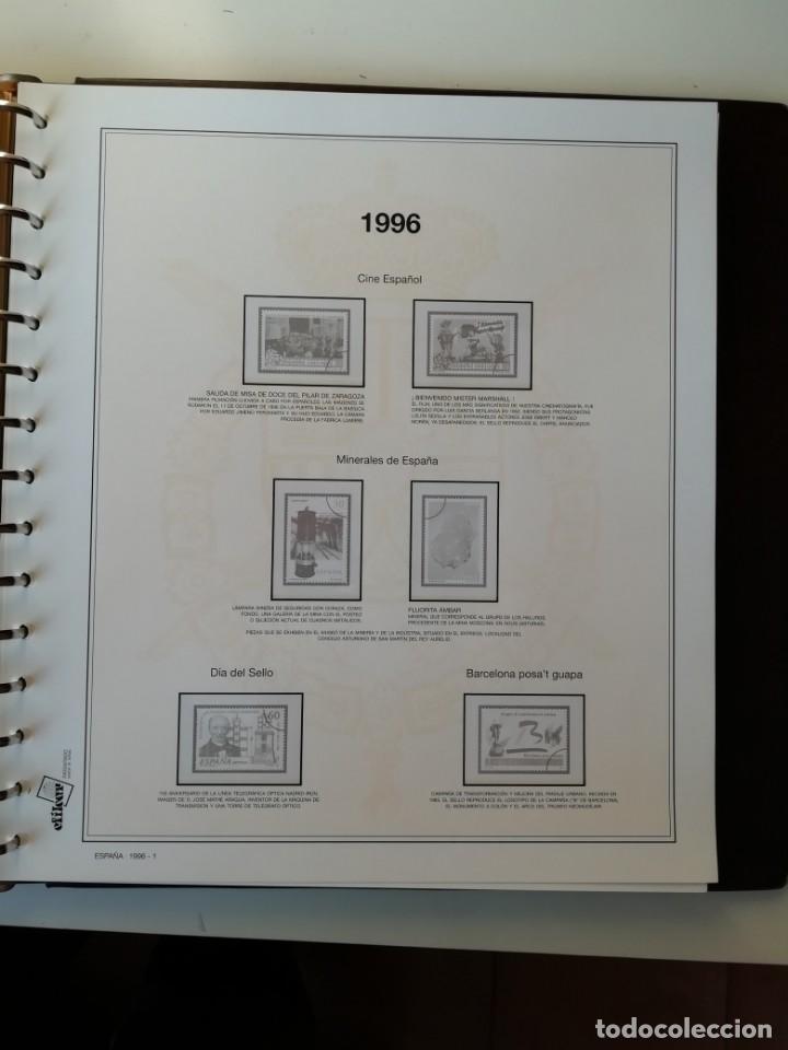 Sellos: HOJAS EFILCAR ESPAÑA 1993-96. Alta calidad, ver descripción - Foto 50 - 199195168