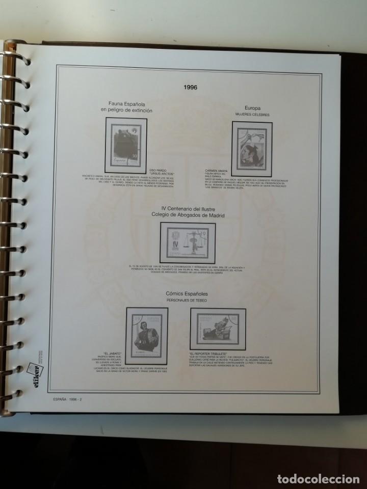 Sellos: HOJAS EFILCAR ESPAÑA 1993-96. Alta calidad, ver descripción - Foto 51 - 199195168