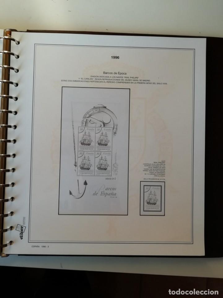 Sellos: HOJAS EFILCAR ESPAÑA 1993-96. Alta calidad, ver descripción - Foto 52 - 199195168
