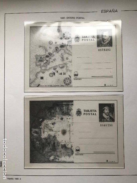 Sellos: Hojas Filabo España año 1980 montadas en transparente. HF80 - Foto 2 - 199238318