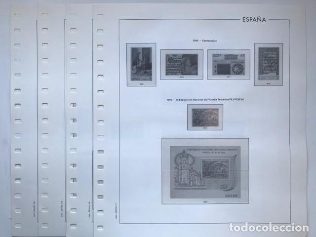 HOJAS EDIFIL ESPAÑA AÑO 1990. SUPLEMENTO HOJAS EDIFIL AÑO 1990 HE90 (Sellos - Material Filatélico - Hojas)