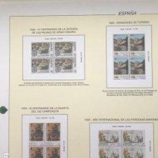 Sellos: HOJAS FILABO ESPAÑA AÑO 1999 EN BLOQUE DE 4 AÑO 1999 2ª PARTE HFB90. Lote 201349498