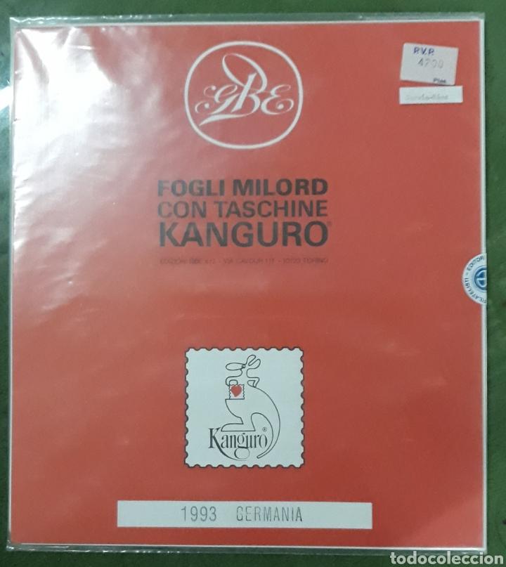 HOJAS EDIFIL ALEMANIA 1993 COMPLETO (Sellos - Material Filatélico - Hojas)