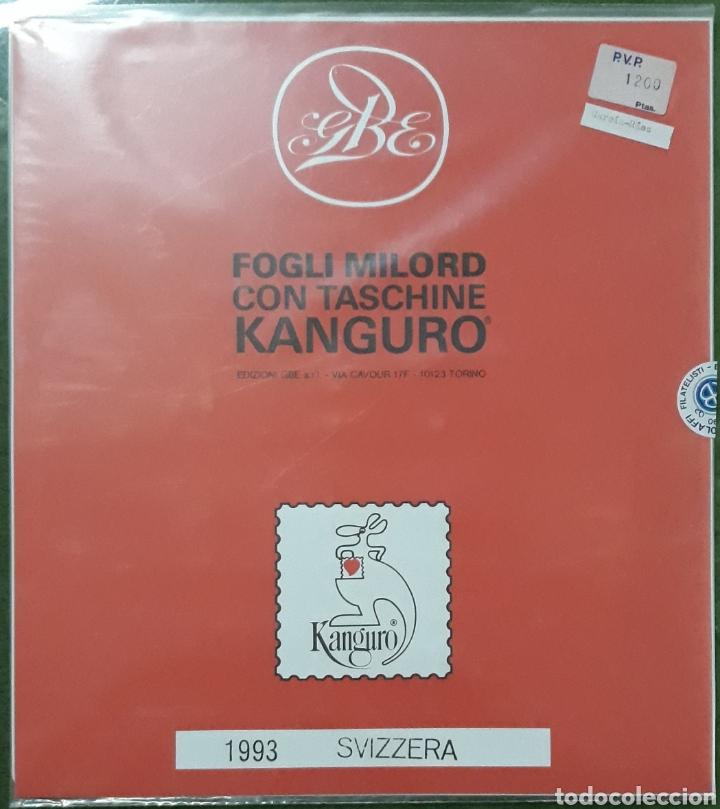 HOJAS EDIFIL SUECIA 1993 COMPLETO (Sellos - Material Filatélico - Hojas)