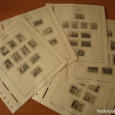 Sellos: HOJAS LEUCHTTURM ESPAÑA 1979-83. Lote 204254345