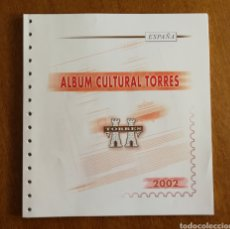 Sellos: HOJAS TORRES PARA SELLOS DE ESPAÑA 2002 COMPLETO (FOTOGRAFÍA REAL). Lote 204967903