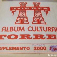Sellos: !!LIQUIDACIÓN!! SUPLEMENTO CULTURAL TORRES - ESPAÑA 2000 - SIN MONTAR. Lote 205609048