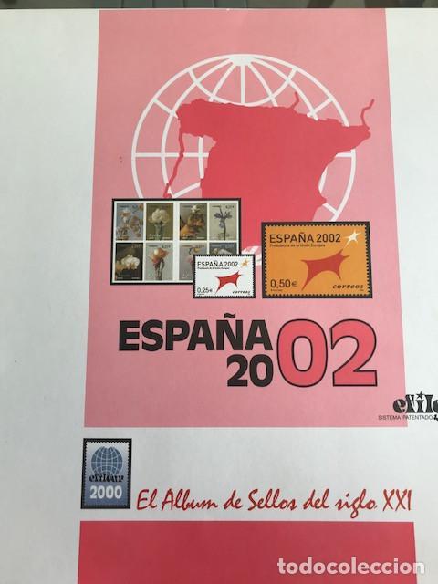 Sellos: Hojas sellos España años 2002 y 2003 13 hojas Efilcar con filoestuches Ver imagenes HE00 - Foto 2 - 210819527