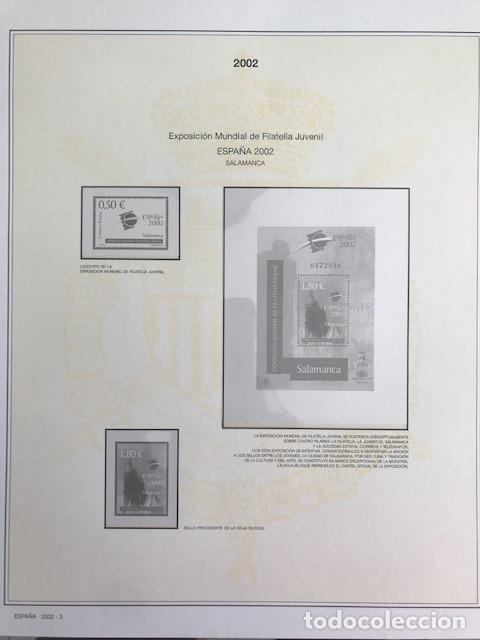 Sellos: Hojas sellos España años 2002 y 2003 13 hojas Efilcar con filoestuches Ver imagenes HE00 - Foto 6 - 210819527
