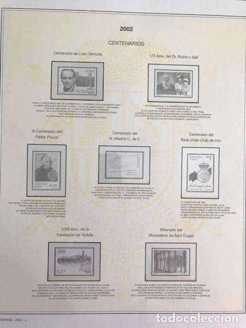 Sellos: Hojas sellos España años 2002 y 2003 13 hojas Efilcar con filoestuches Ver imagenes HE00 - Foto 7 - 210819527