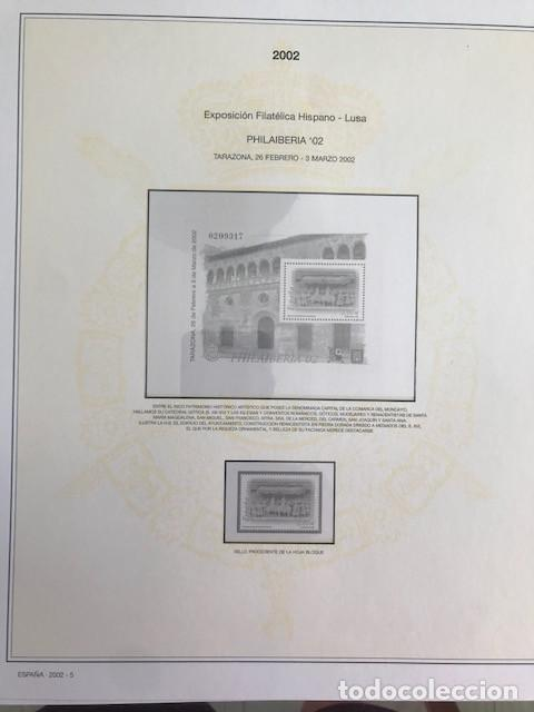 Sellos: Hojas sellos España años 2002 y 2003 13 hojas Efilcar con filoestuches Ver imagenes HE00 - Foto 8 - 210819527