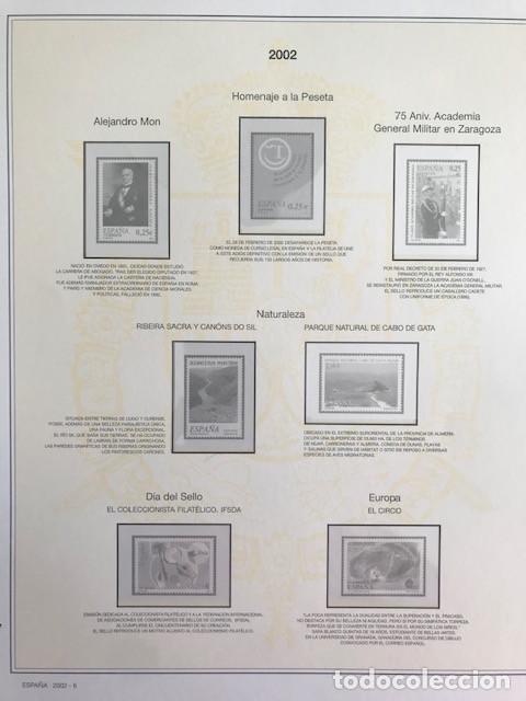 Sellos: Hojas sellos España años 2002 y 2003 13 hojas Efilcar con filoestuches Ver imagenes HE00 - Foto 9 - 210819527