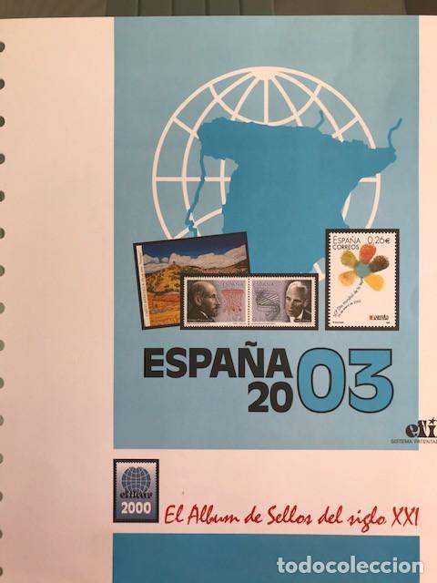 Sellos: Hojas sellos España años 2002 y 2003 13 hojas Efilcar con filoestuches Ver imagenes HE00 - Foto 10 - 210819527