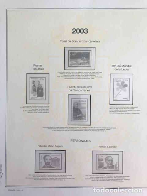 Sellos: Hojas sellos España años 2002 y 2003 13 hojas Efilcar con filoestuches Ver imagenes HE00 - Foto 11 - 210819527