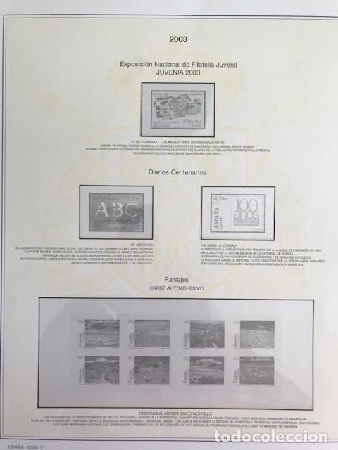 Sellos: Hojas sellos España años 2002 y 2003 13 hojas Efilcar con filoestuches Ver imagenes HE00 - Foto 12 - 210819527