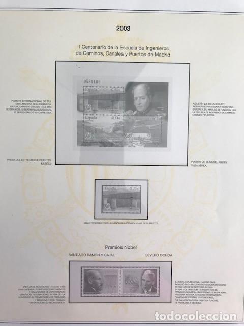 Sellos: Hojas sellos España años 2002 y 2003 13 hojas Efilcar con filoestuches Ver imagenes HE00 - Foto 13 - 210819527