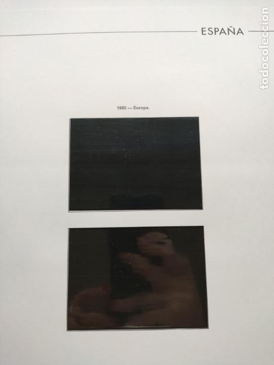Sellos: Hojas Edifil España bloque de 4 año 1985 completo montado en negro HEB80 85 - Foto 5 - 211795496