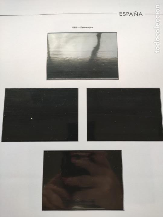 Sellos: Hojas Edifil España bloque de 4 año 1985 completo montado en negro HEB80 85 - Foto 9 - 211795496