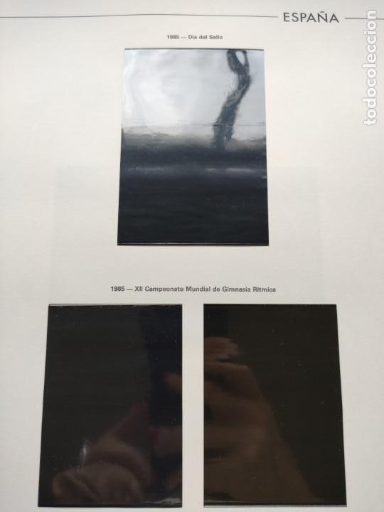Sellos: Hojas Edifil España bloque de 4 año 1985 completo montado en negro HEB80 85 - Foto 10 - 211795496