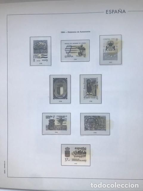 Sellos: Hojas Edifil España año 1984 completo con tarjetas postales y aerogramas 1984 HE80 84 - Foto 6 - 211826200